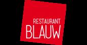 Restaurant Blauw logo beeldmerk